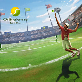 Tennis Browsergame